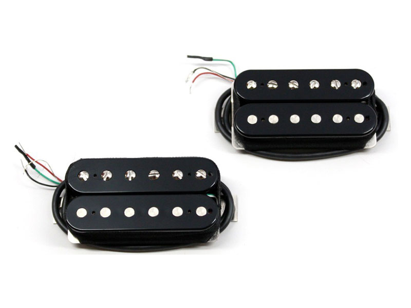 Bare Knuckle Nailbomb calibrated open set Humbucker Black | Sady snímačů - 1