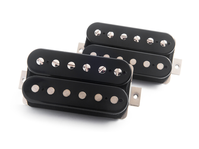Bare Knuckle Ragnarok set open black 53 mm | Snímače Humbucker - 1