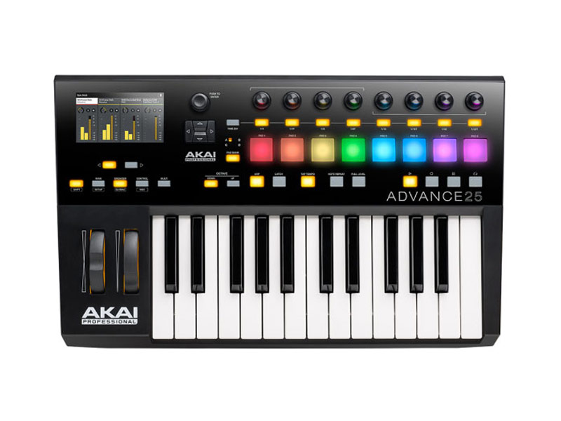 AKAI Advance 25 | MIDI Keyboardy, Master Keyboardy - 1
