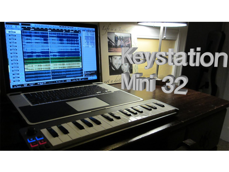 M-AUDIO Keystation Mini 32 II | Keyboardy - 3