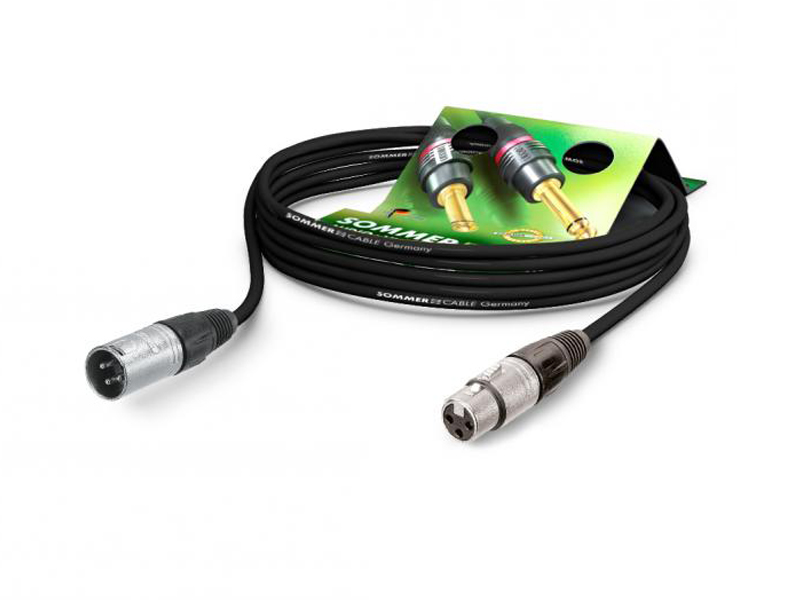 SommerCable CS01-1000-SW CLUB SERIES MKII - 10m černý | 10m - 1