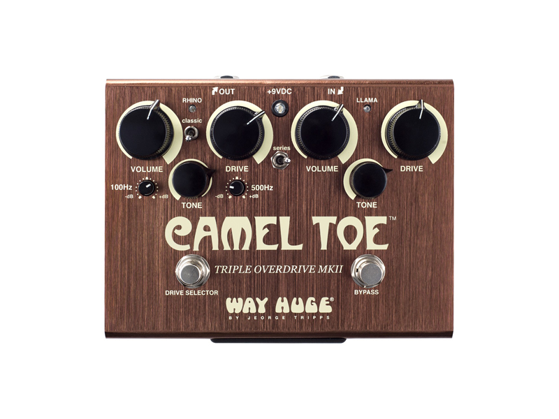 Way Huge Camel Toe Triple Overdrive | Overdrive, Distortion, Fuzz, Boost - 1