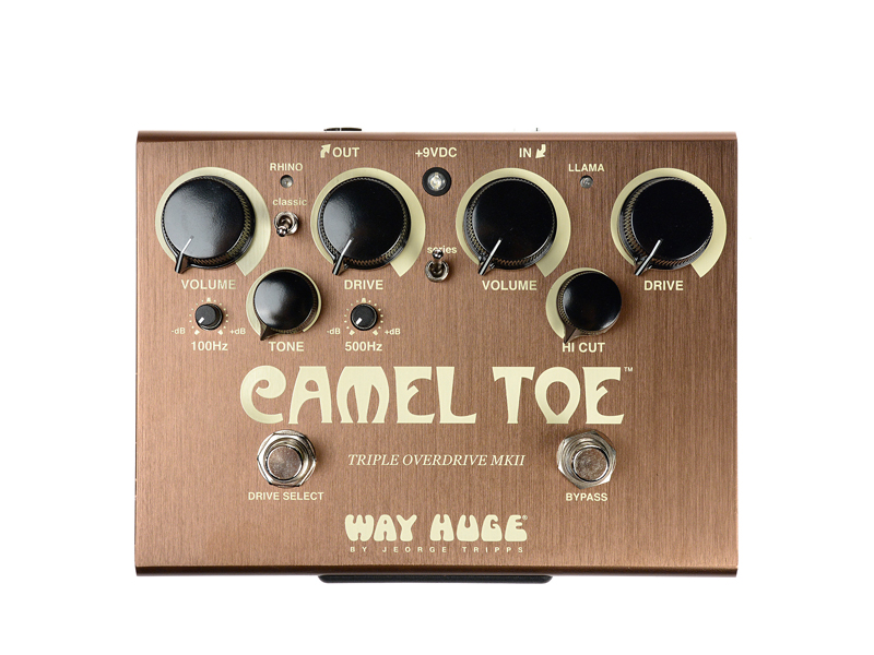 Way Huge Camel Toe Triple Overdrive | Overdrive, Distortion, Fuzz, Boost - 2