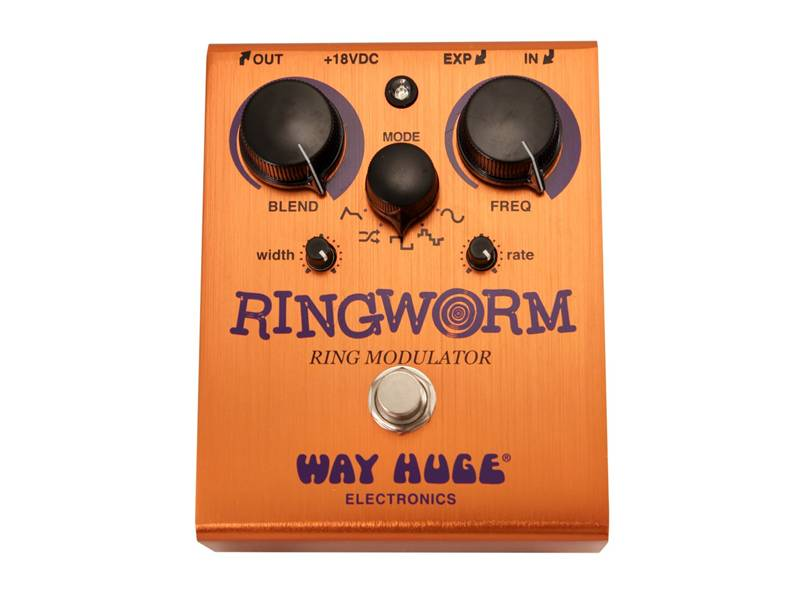 Way Huge Ring Worm modulator | Overdrive, Distortion, Fuzz, Boost