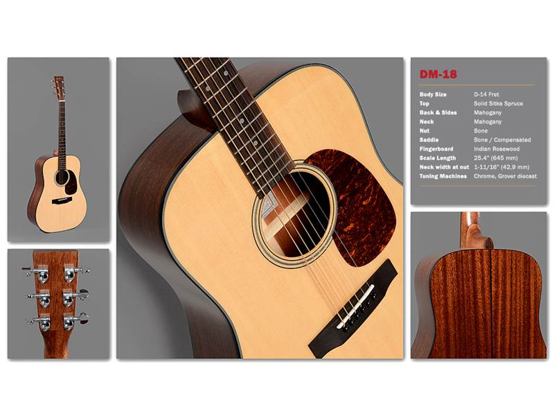 Sigma Guitars DM-18 | Dreadnought - 2