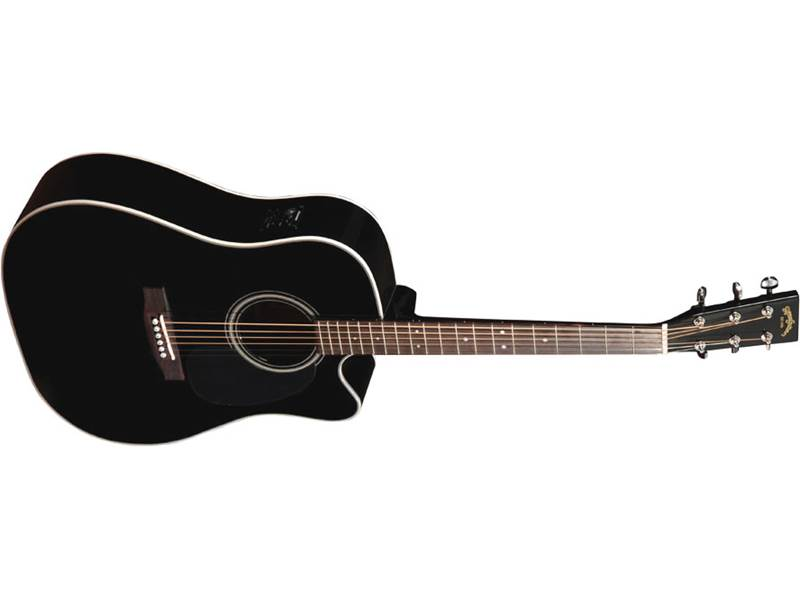 Sigma Guitars DMC-1STE-BK | Dreadnought - 1