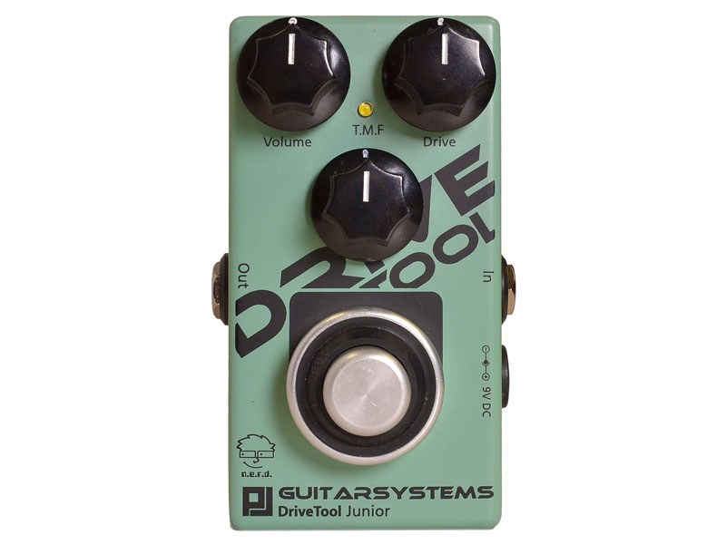 GuitarSystems DriveTool Junior | Overdrive, Distortion, Fuzz, Boost - 1