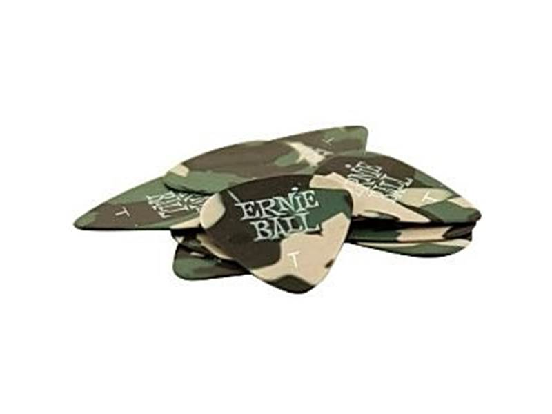 Ernie Ball 9221 Cellulose Camouflage 0.46mm Thin - 12ks | Trsátka - 1