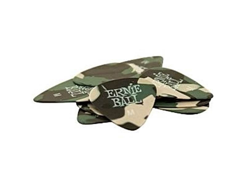 Ernie Ball 9222 Cellulose Camouflage 0.72mm Medium - 12ks | Trsátka - 1
