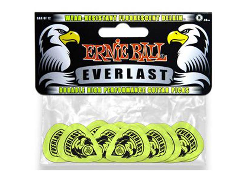 Ernie Ball 9191 Cellulose Everlast Delrin Heavy 0.88mm - 12ks | Trsátka - 1