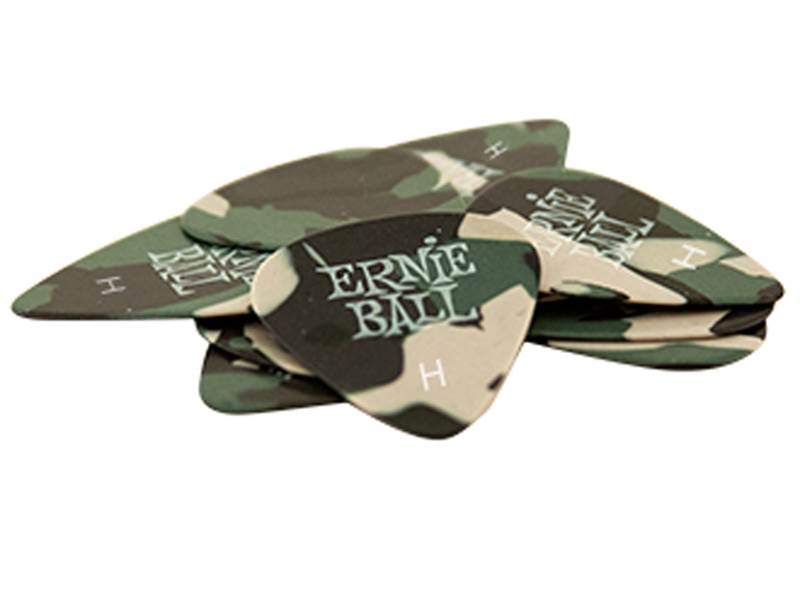 Ernie Ball 9223 Cellulose Camouflage 0.97mm Heavy - 12ks | Trsátka - 1