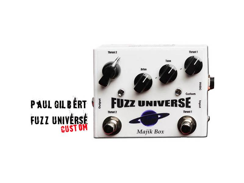 Majik Box Fuzz Universe Paul Gilbert Custom | Overdrive, Distortion, Fuzz, Boost - 1