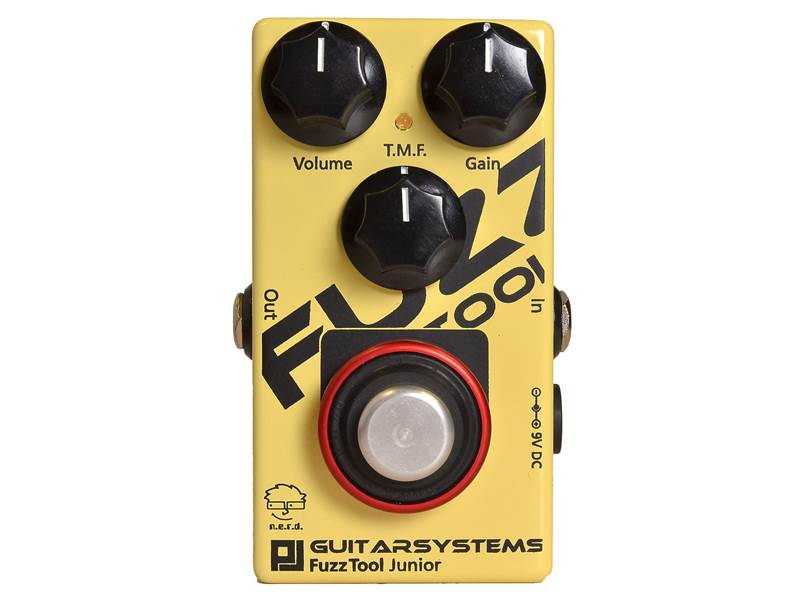 GuitarSystems FuzzTool Junior | Overdrive, Distortion, Fuzz, Boost - 1
