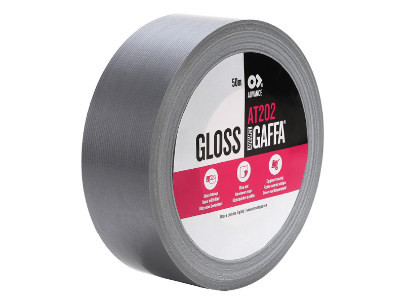 Advance Gaffa Tape AT202, 50mm/50m, stříbrná | Gaffa pásky - 1