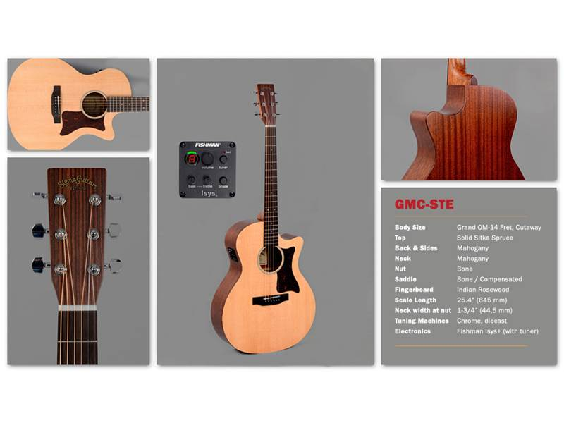 Sigma Guitars GMC-STE | Orchestra, Auditorium - 2