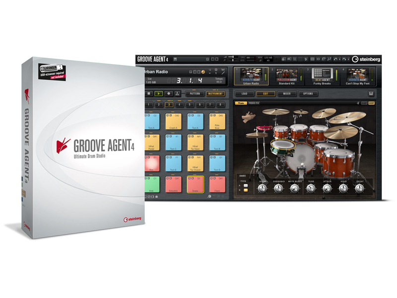 Steinberg Groove Agent 4 | Software - 1