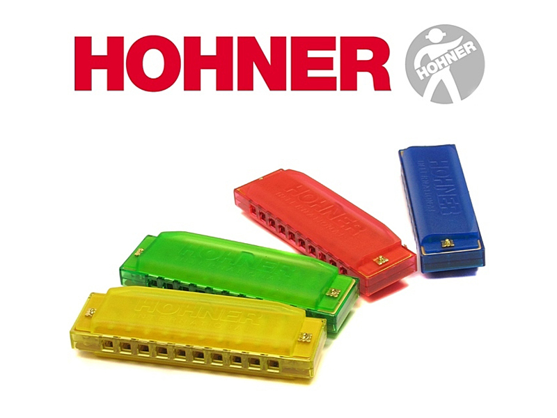 Hohner Happy Color | Foukací harmoniky - 1