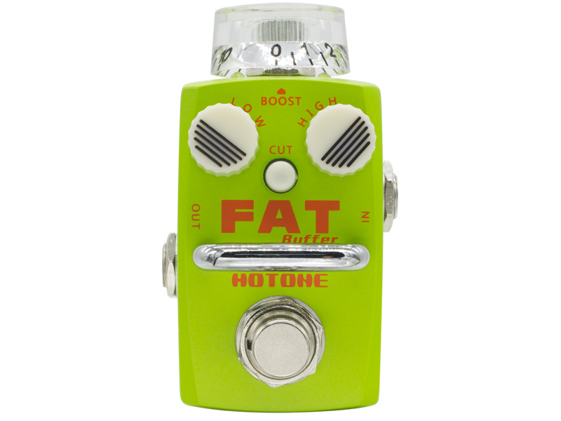 Hotone Fat Buffer | Overdrive, Distortion, Fuzz, Boost - 1