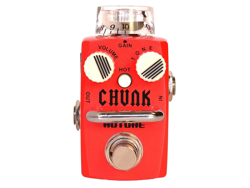 Hotone CHUNK classic vintage British distortion | Overdrive, Distortion, Fuzz, Boost - 1