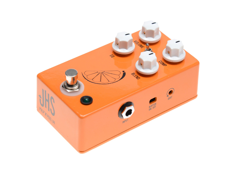JHS Pedals PULP N PEEL V4 compressor | Overdrive, Distortion, Fuzz, Boost - 3