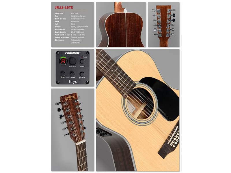Sigma Guitars JR-12-1STE | Jumbo - 2