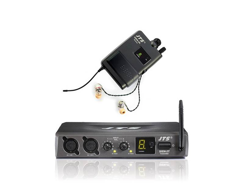 JTS SIEM-2T/SIEM in Ear Monitoring Systém | In-Ear monitoring kompletní sety - 1