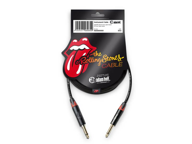 Adam Hall K6IPP0900SP nástrojový kabel The Rolling Stones® | 9m - 1
