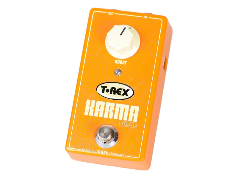 T-Rex Karma Boost | Overdrive, Distortion, Fuzz, Boost - 1