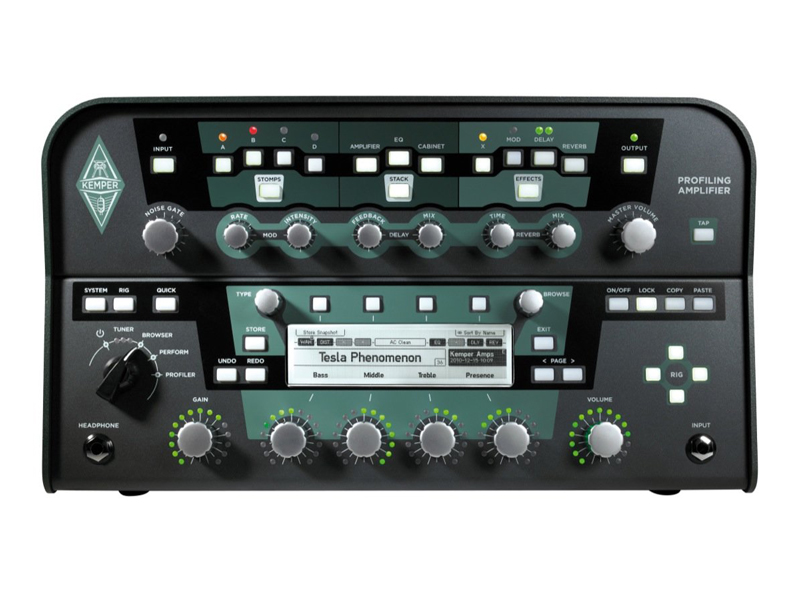 Kemper Profiler Head Black | Multiefekty, Procesory - 1