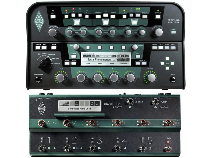 Kemper Profiler PowerHead + Kemper Profiler Remote (SET) | Multiefekty, Procesory - 1