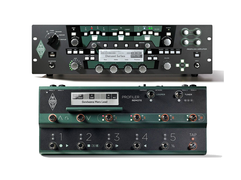 Kemper Profiler PowerRack + Kemper Profiler Remote | Multiefekty, Procesory - 1