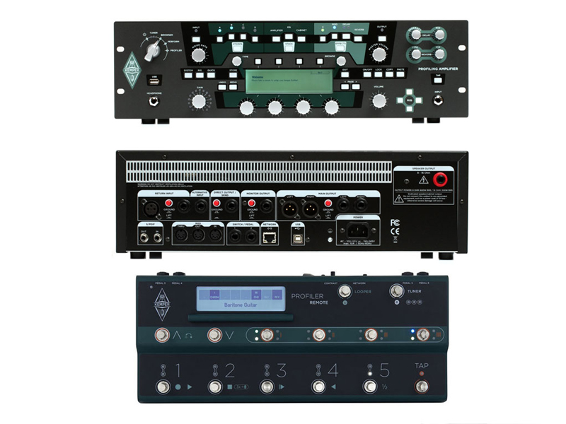 Kemper Profiler PowerRack + Kemper Profiler Remote | Multiefekty, Procesory - 2