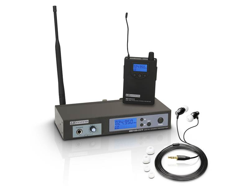 LD Systems MEI 100 G2 - In-Ear Monitoring System | In-Ear monitoring kompletní sety - 1
