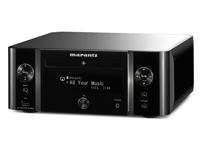 MARANTZ M-CR611 Melody Media - Black | CD-DVD-MP3 přehrávače - 1