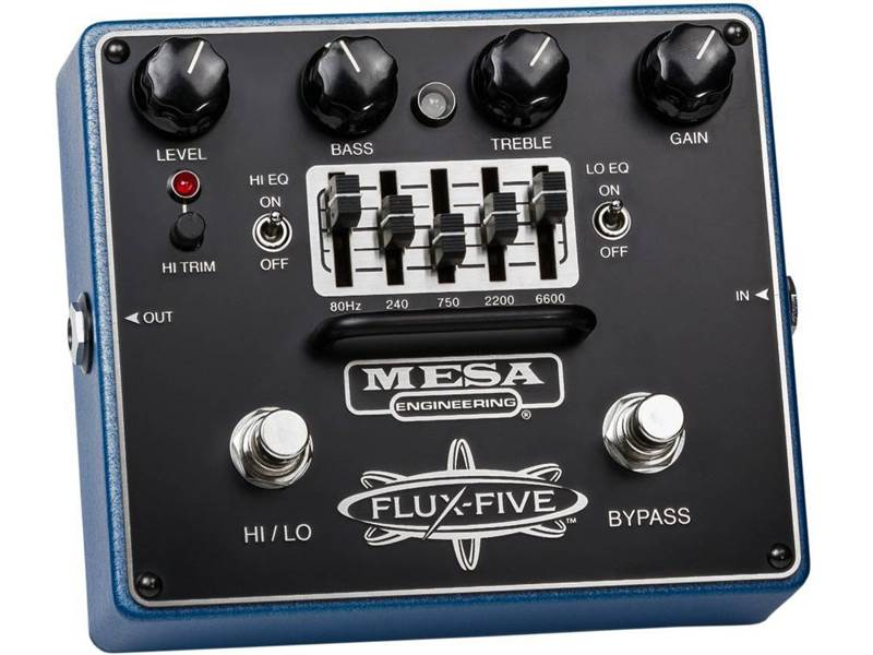 MESA BOOGIE Flux Five Dual | Overdrive, Distortion, Fuzz, Boost - 1