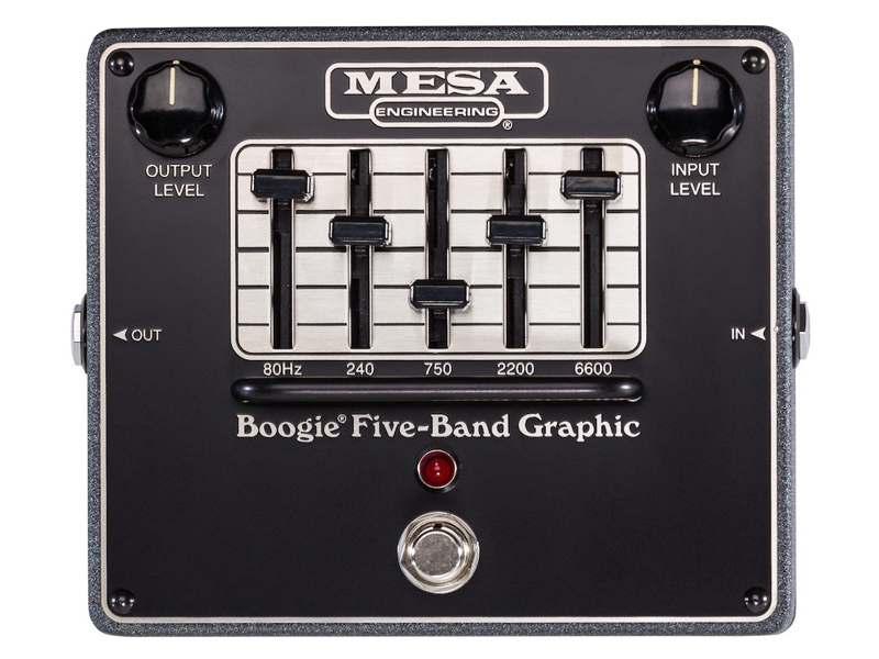 Mesa Boogie Five-Band Graphic | Ekvalizery - 1