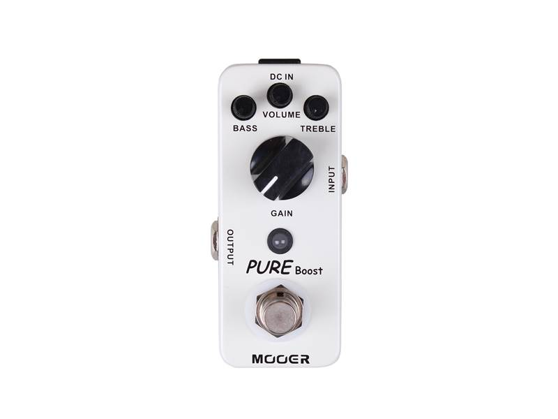 Mooer Pure Boost Clean Boost Pedal | Overdrive, Distortion, Fuzz, Boost