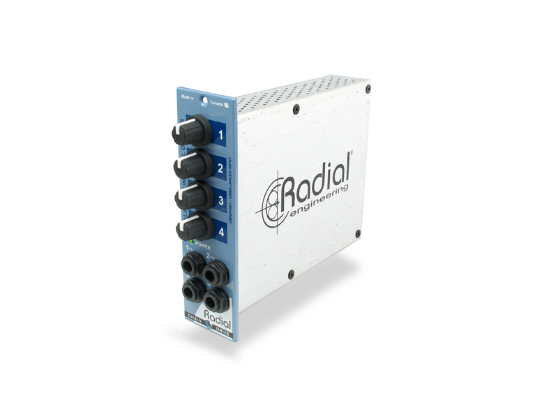 Radial Serie 500 ChainDrive 1x4 Distribution Amplifier | Série 500 - 1