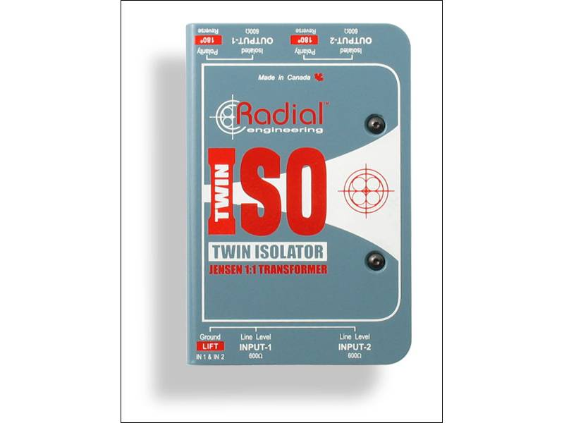 Radial Twin Iso, Line level isolator | Interface - 1