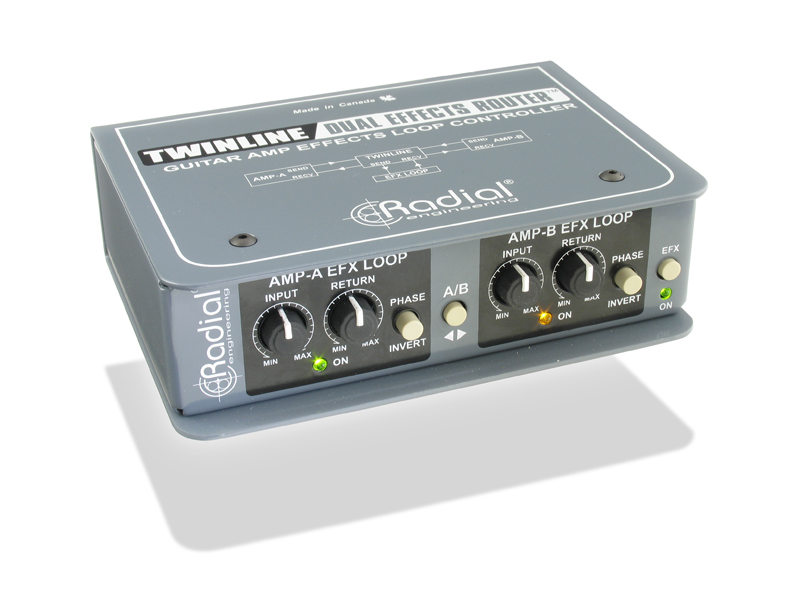 Radial Twinline Effects loop interface | Interface - 1