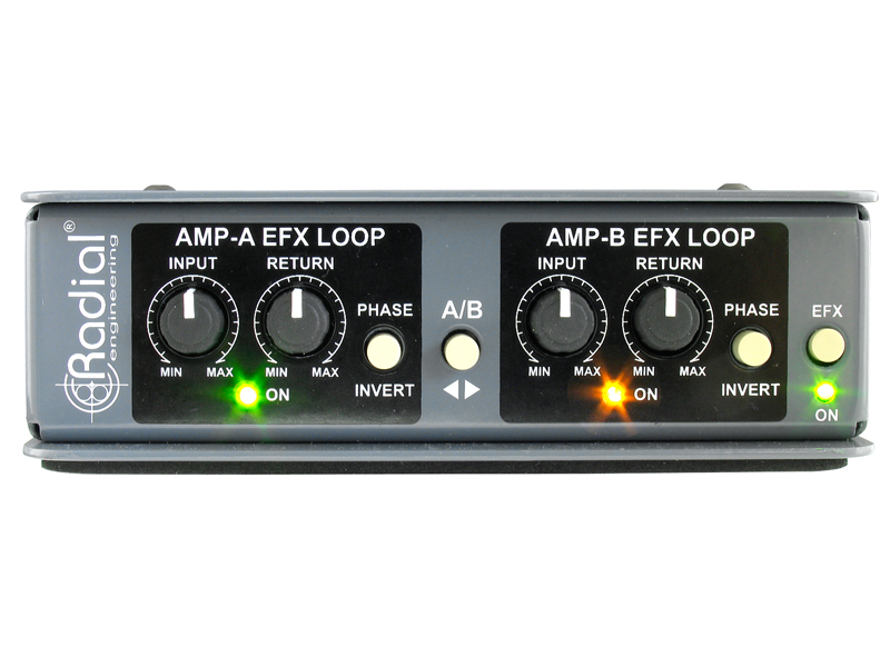 Radial Twinline Effects loop interface | Interface - 2