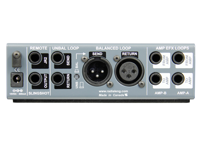 Radial Twinline Effects loop interface | Interface - 3