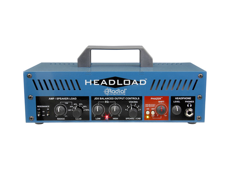 Radial Headload V8 - Guitar Amp Load Box | Power brake a Speaker simulátory - 1