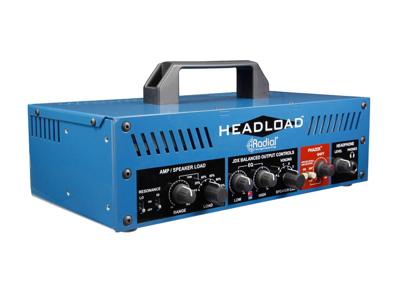 Radial Headload V8 - Guitar Amp Load Box | Power brake a Speaker simulátory - 3