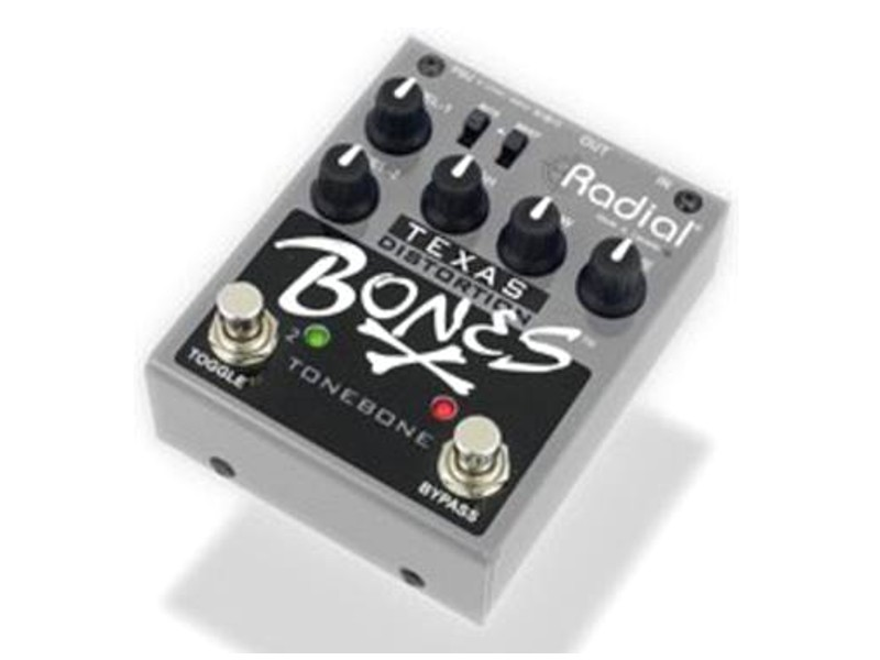 Radial BONES Texas dual overdrive, kytarový efekt | Overdrive, Distortion, Fuzz, Boost - 1