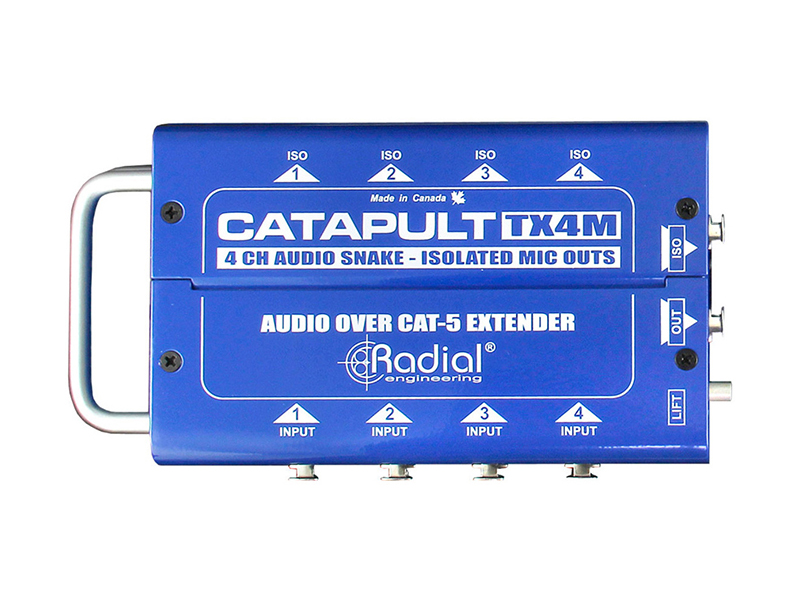 Radial Catapult TX4M | Interface - 1