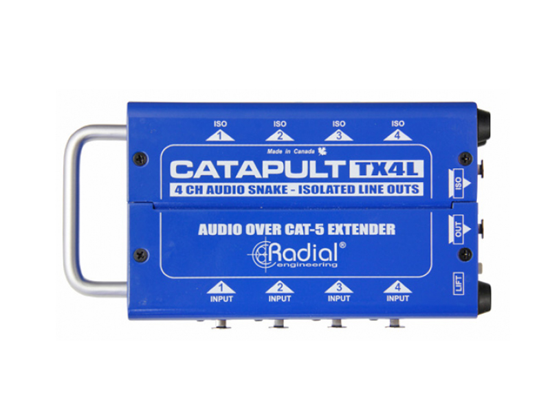 Radial Catapult TX4L | Interface - 1