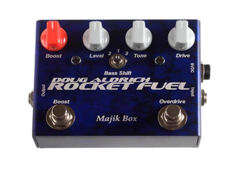 Majik Box Rocket Fuel 5th overdrive a boost - limited | Overdrive, Distortion, Fuzz, Boost - 1