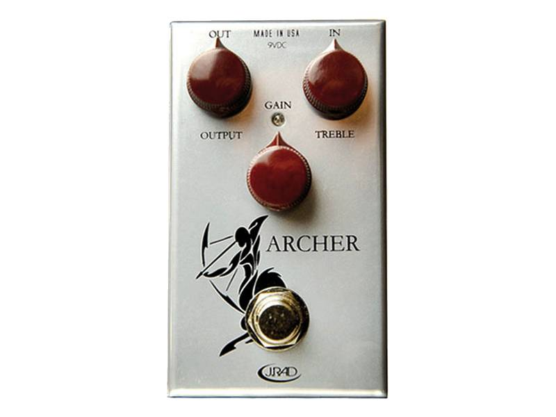 J. Rockett ARCHER boost a overdrive | Overdrive, Distortion, Fuzz, Boost - 1