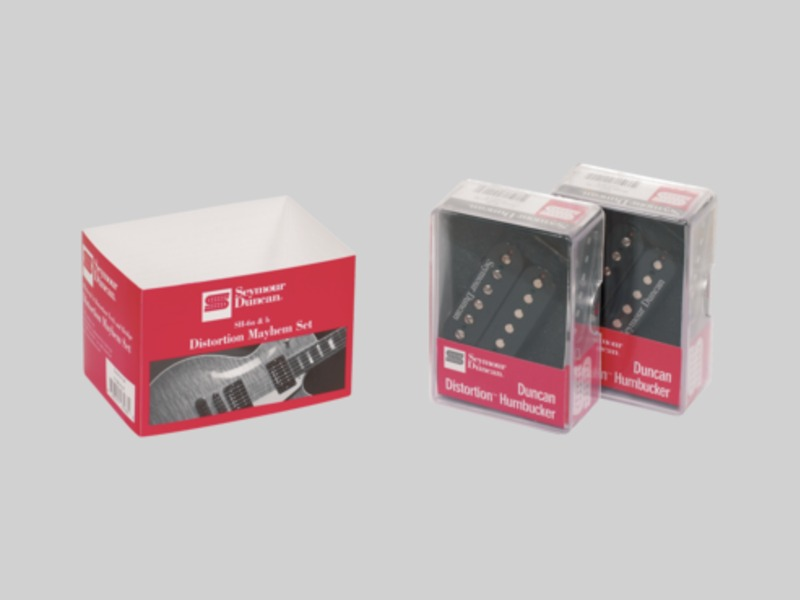 Seymour Duncan SH-6 Set Distortion Mayhem | Snímače Humbucker - 1